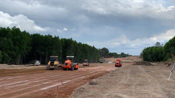 Cập nhật 24/7: Cao tốc Dầu Giây - Phan Thiết, cận cảnh tiến độ xây dựng 4