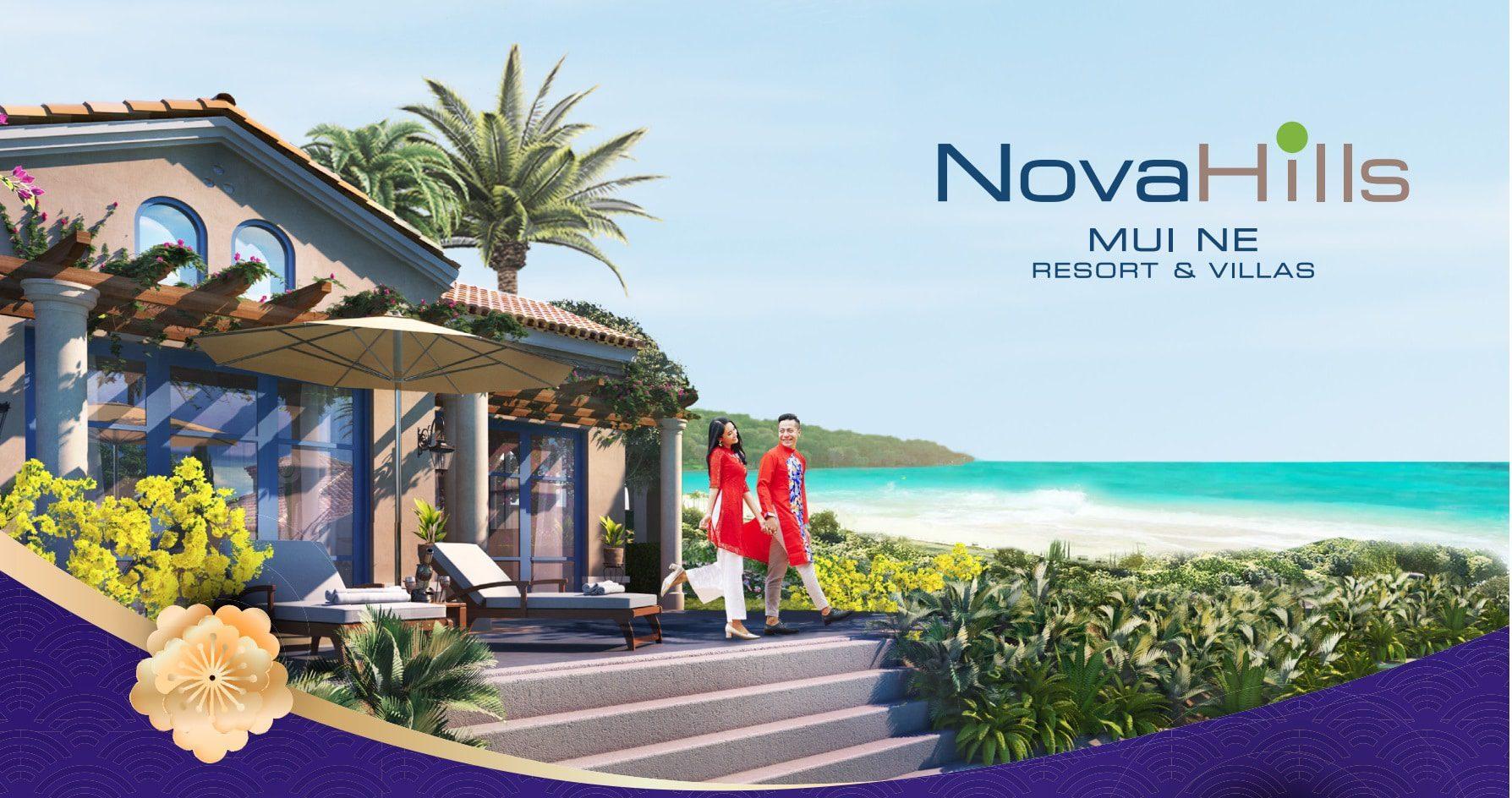 Biệt thự biển Hồ Tràm, Phan Thiết & Mũi Né - Tập đoàn Novaland 1