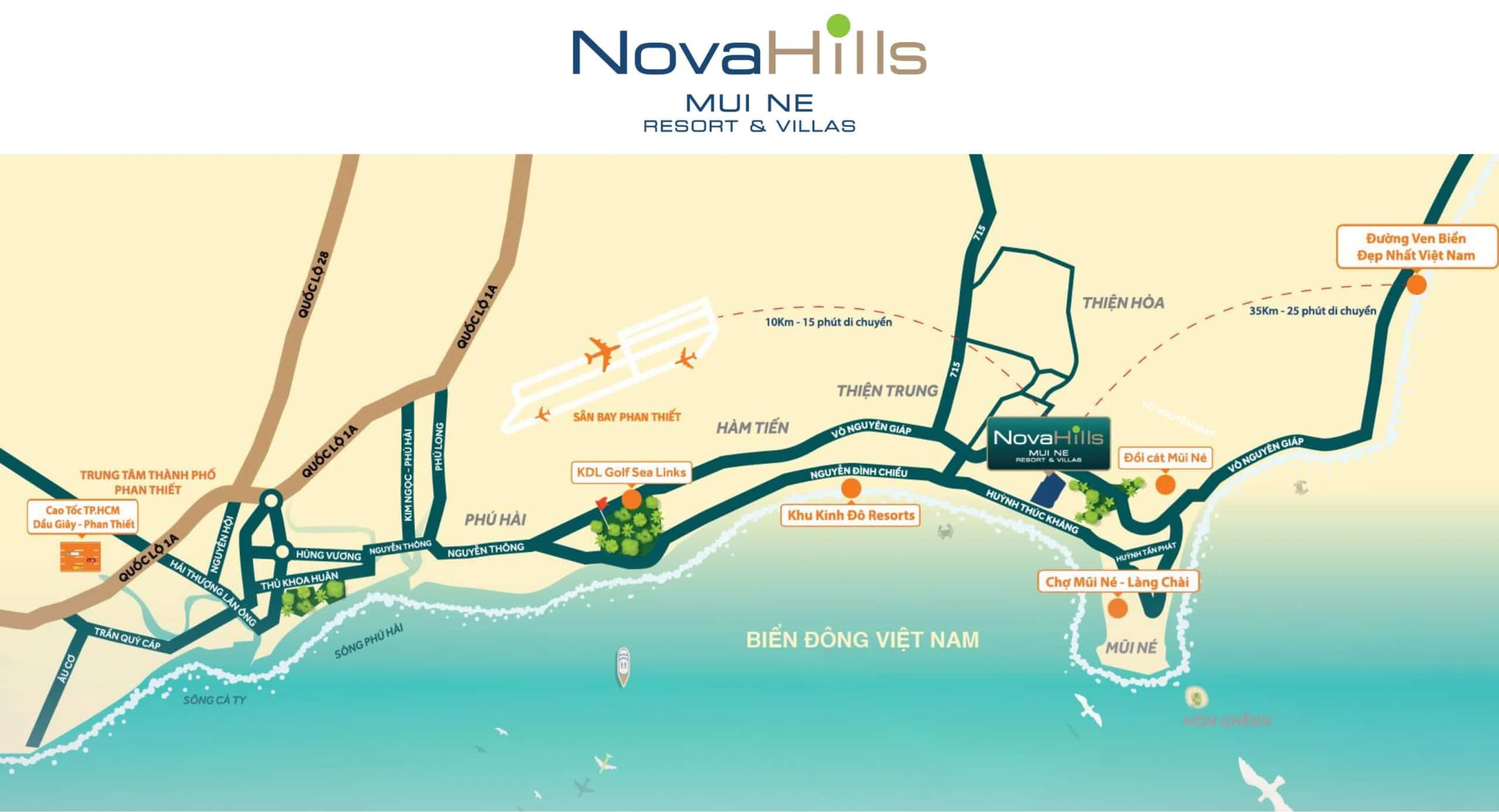 Biệt thự biển Hồ Tràm, Phan Thiết & Mũi Né - Tập đoàn Novaland 3