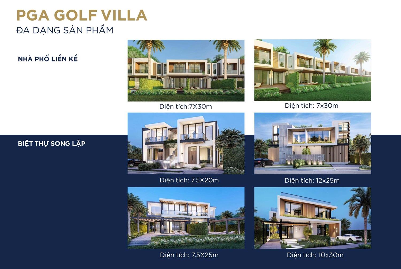Mẫu Biệt thự Golf Villa NovaWorld Phan Thiết