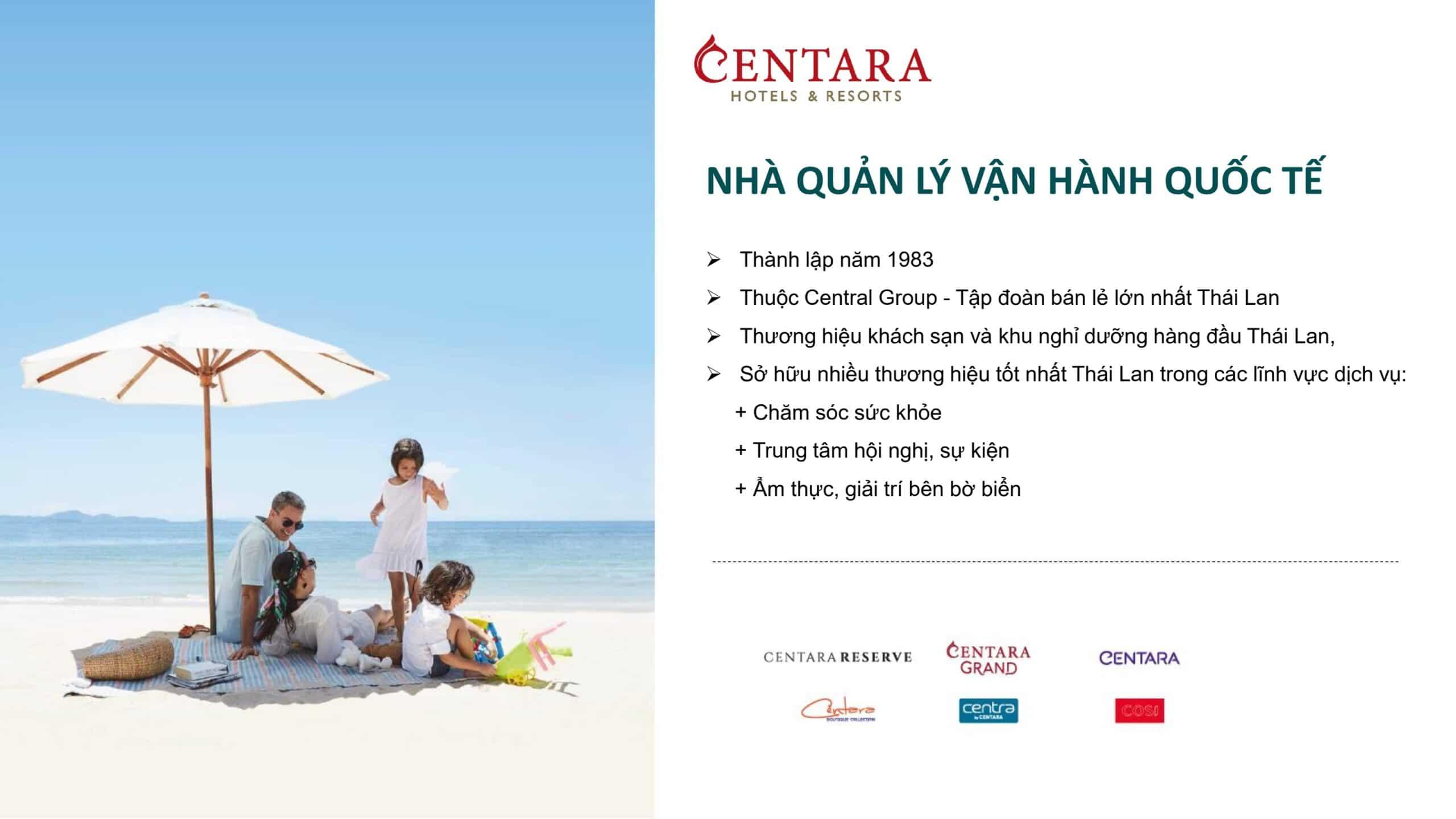 Quản lý vận hành Centara Hotels Resort 1