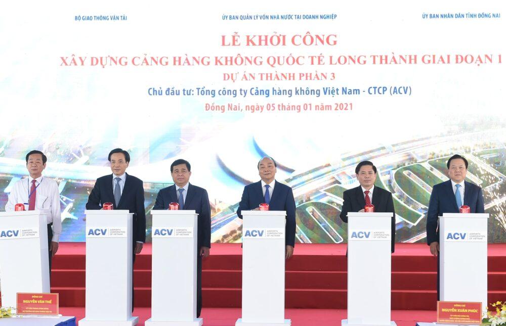 Lễ khởi công xây dựng sân bay quốc tế Long Thành