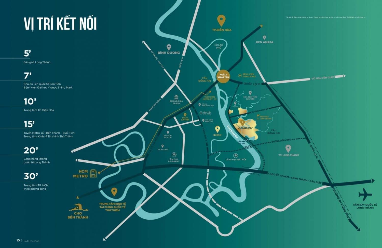 Vị trí Aqua City Novaland ở đâu Đồng Nai