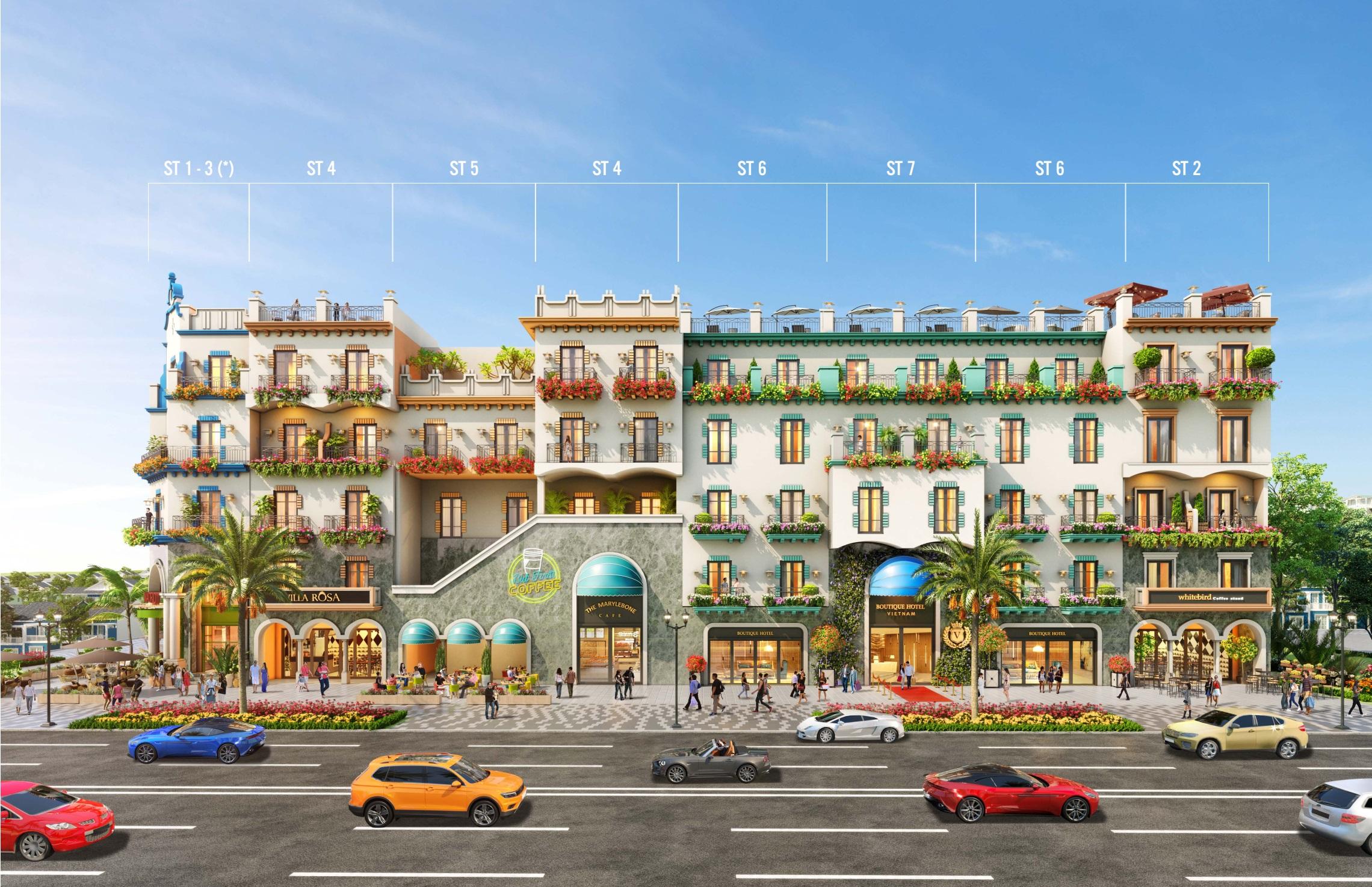 Mẫu nhà Boutique Hotel NovaWorld Phan Thiết