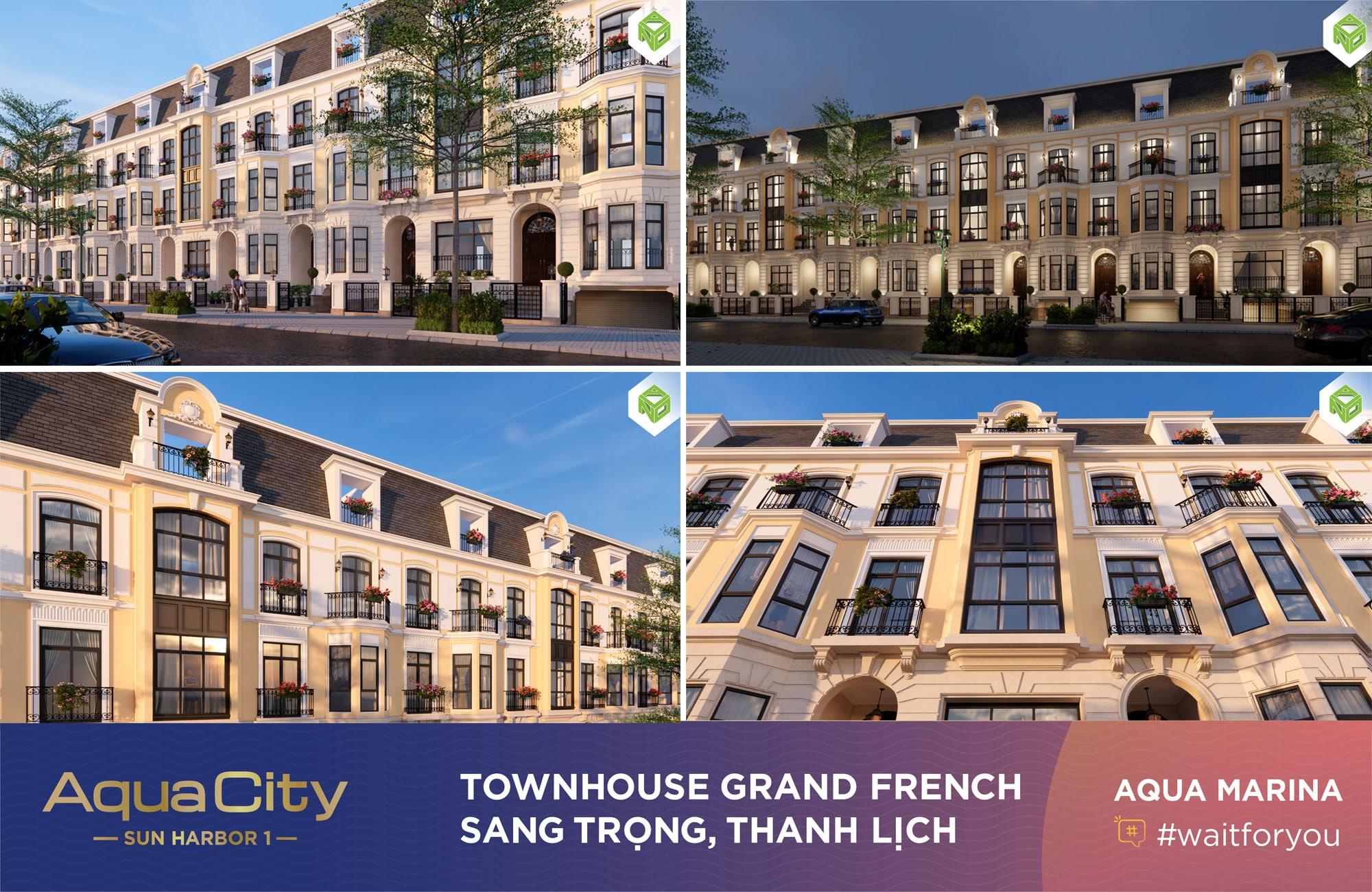 Townhouse Grand Frech Aqua Marina Aqua City