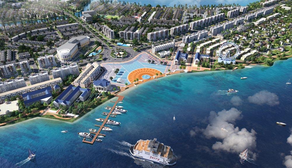 Quảng trường du thuyền Aqua City