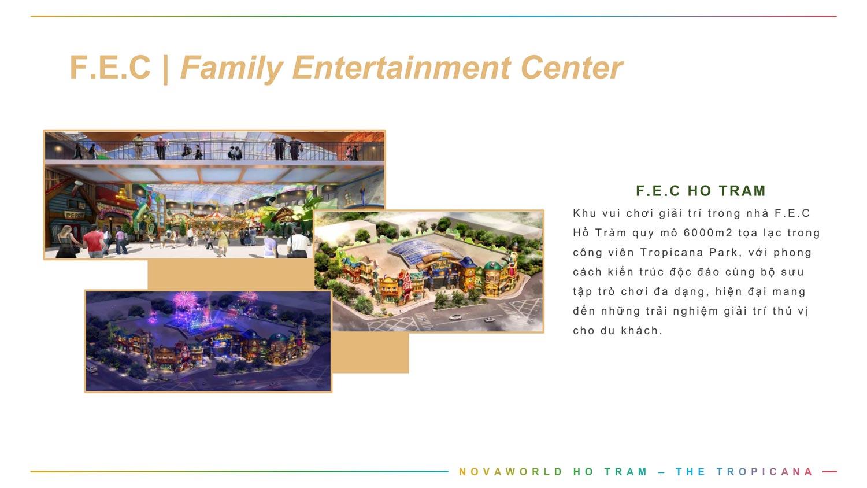 Tiện ích Tropicana Park F.E.C Family