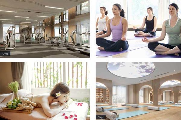Spa Gym Yoga căn hộ The Grand Manhattan Novaland Quận 1